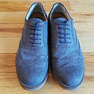 490d929a5 Tommy Hilfiger Shoes - Tommy Hilfiger blue suede shoes - men s size 10